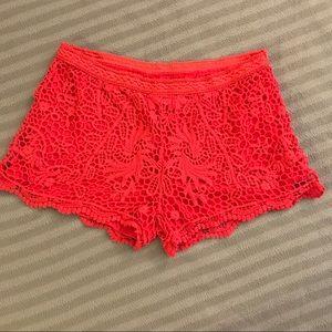 NWOTs Lace shorts